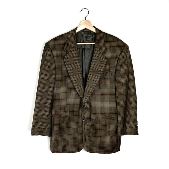 Canali Other - VTG CANALI Two Button Sport Jacket Blazer Plaid